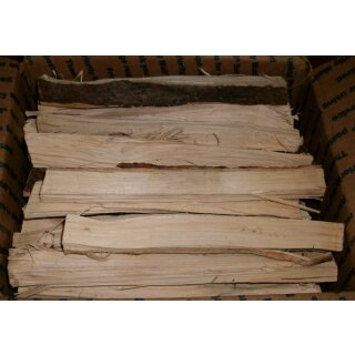 Hickory Scheid Holz ca. 10 KG Box
