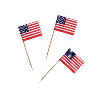 Deko-Picker USA Fahne