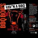 BBQ Bob's 7 Bones Beef  Rub  28 OZ